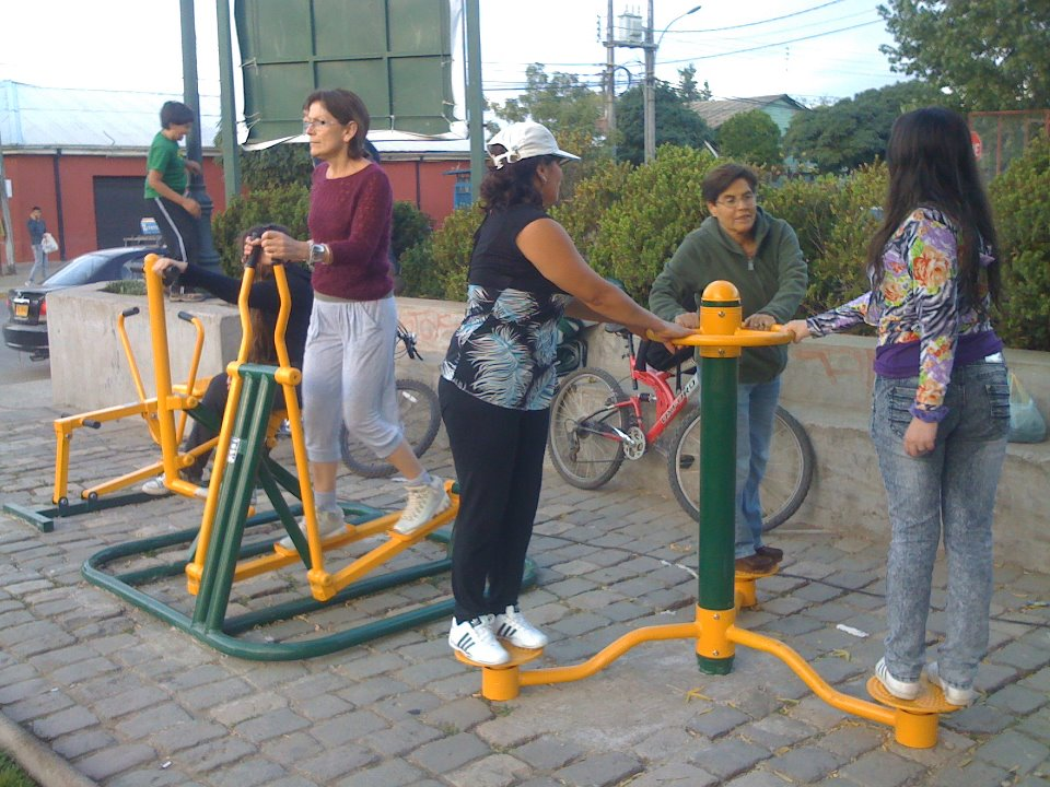 Bioparkes m quinas de ejercicios al aire libre - Maquinas para hacer deporte en casa ...
